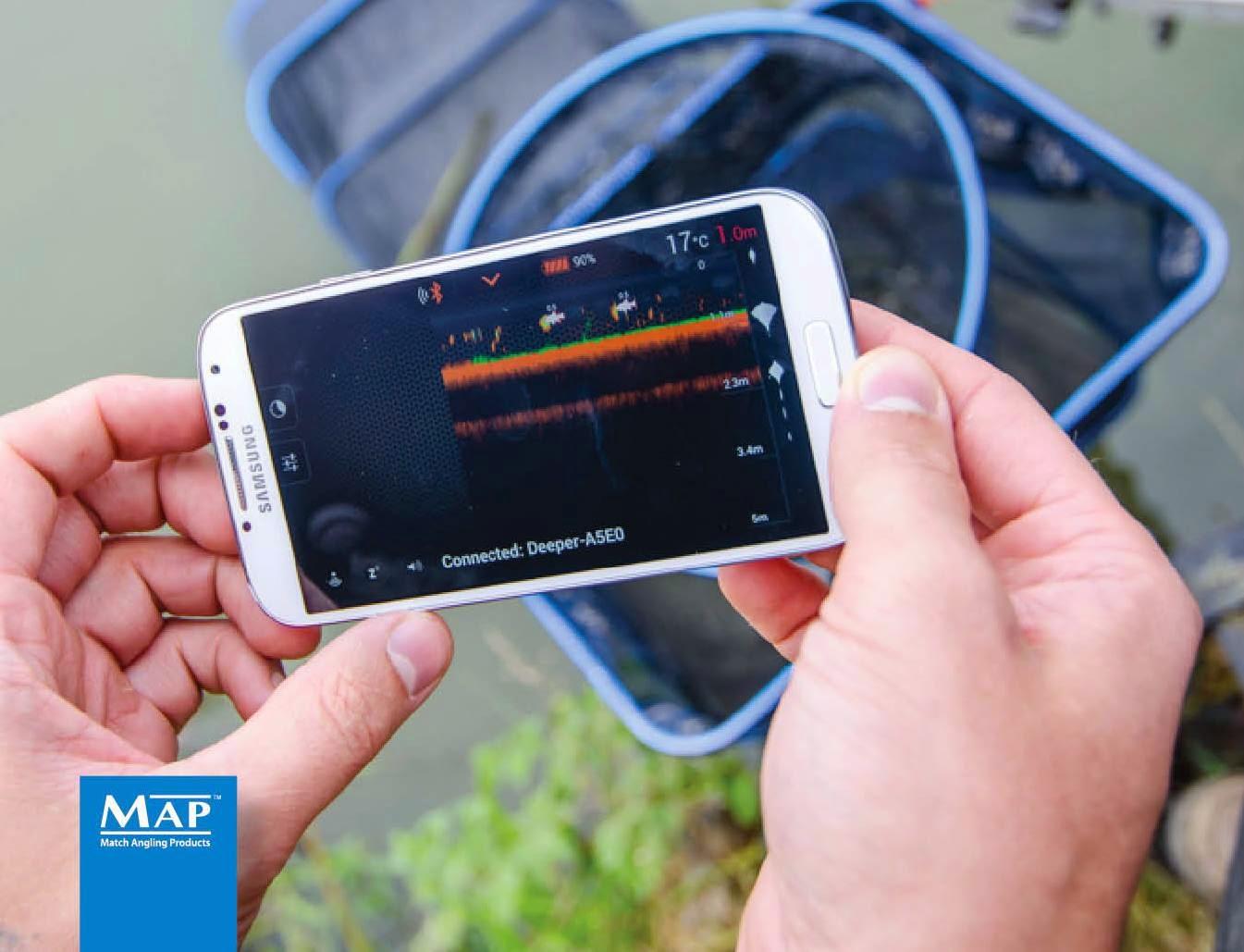 Эхолот deeper smart fishfinder бп румянцево