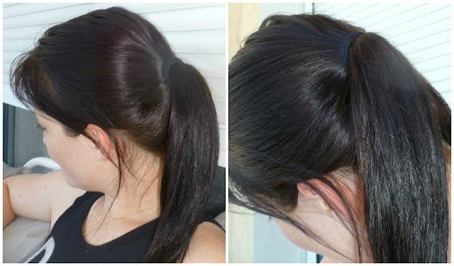 Je traite les cheveux par le henné incolore