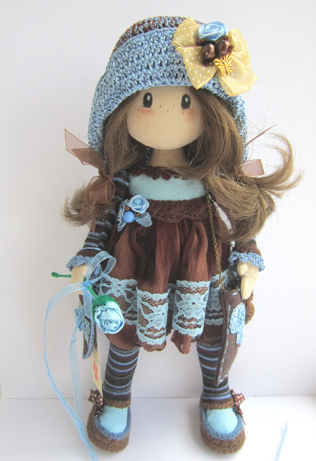 Текстильная кукла своими руками мастер класс