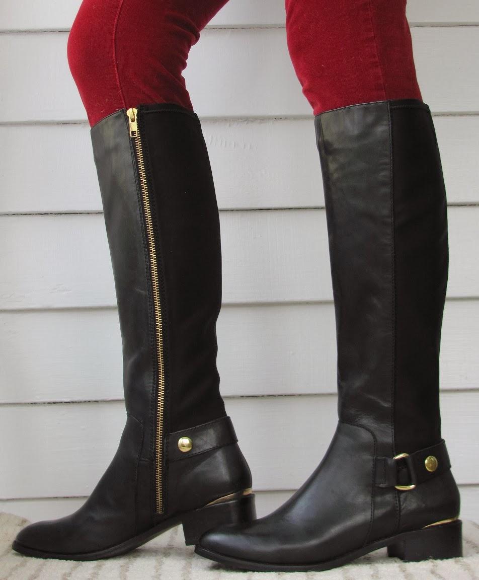 Howdy Slim! Riding Boots for Thin Calves: Steve Madden Ryyder