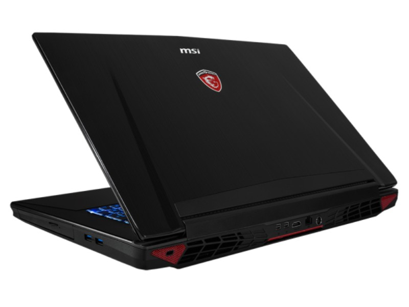MSI GT72 2QE Dominator Pro back view