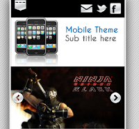 MobileBlog Theme