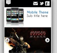 MobileBlog Theme