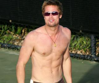 Brad Pitt Shirtless Hot Body Photos Global Celebrities Blog