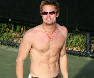 Brad Pitt Shirtless Hot Body Photos | Global Celebrities Blog