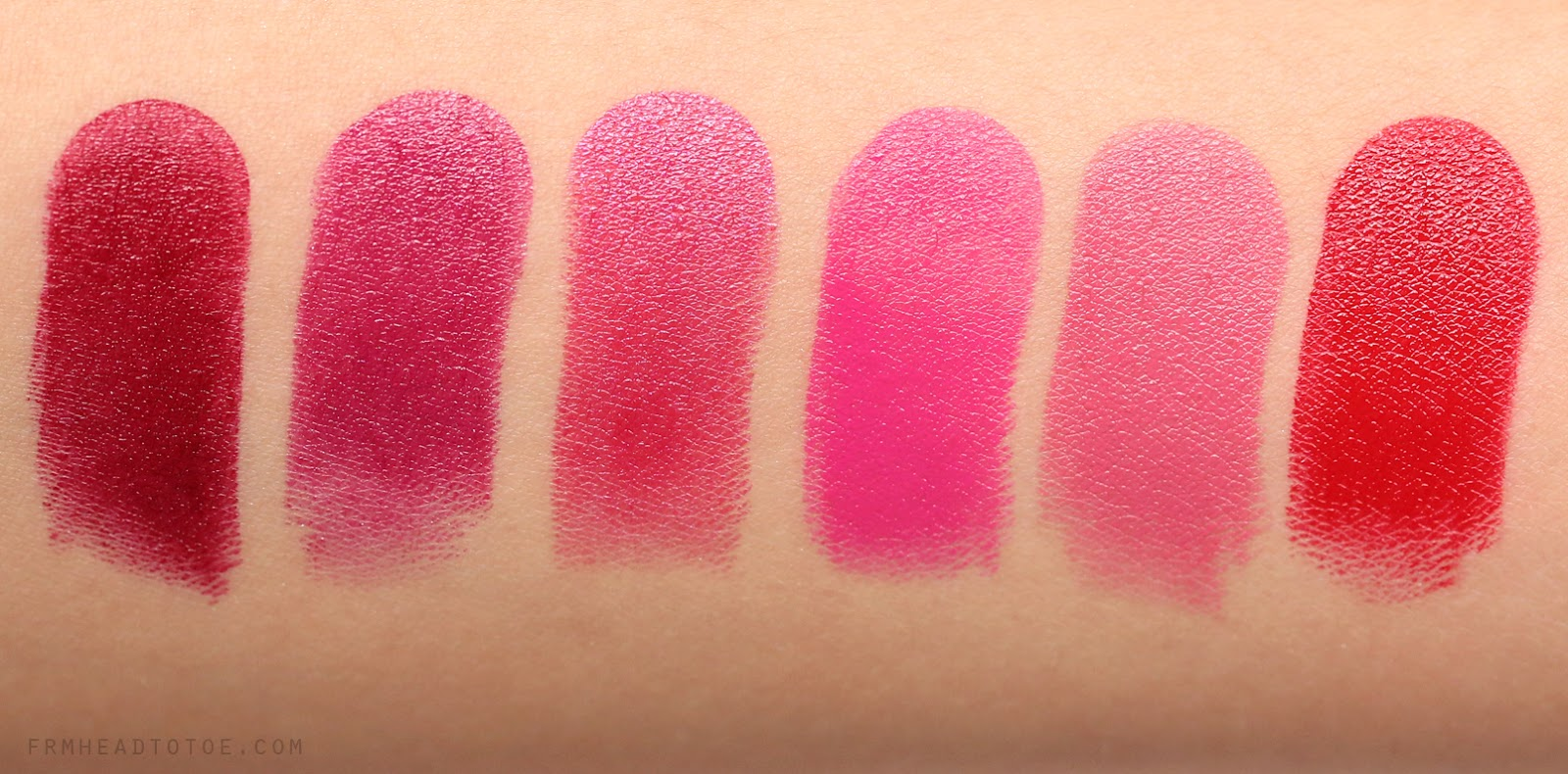 REVIEW & SWATCHES: All Urban Decay Revolution Lipsticks - From Head To ...