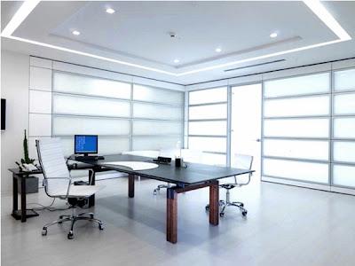 desain meja kantor minimalis 1