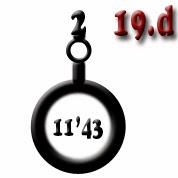 Ejemplo 19.d: Cañón (x2) de calibre 11'43