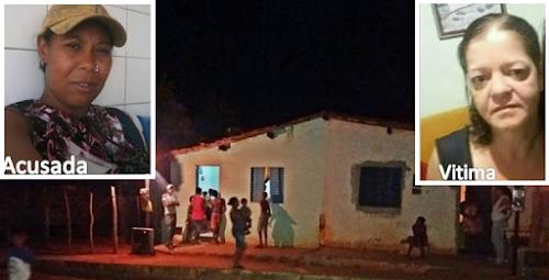 BAHIA: Mulher mata vizinha ao aplicar diversos socos e pontapés na cabeça da vítima