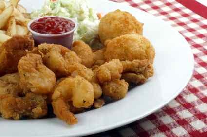 Joe's Crab Shack Popcorn Shrimp ~ Fabulous Famous Recipes