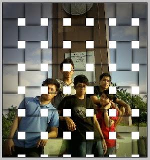 Efek Foto Seperti Anyaman