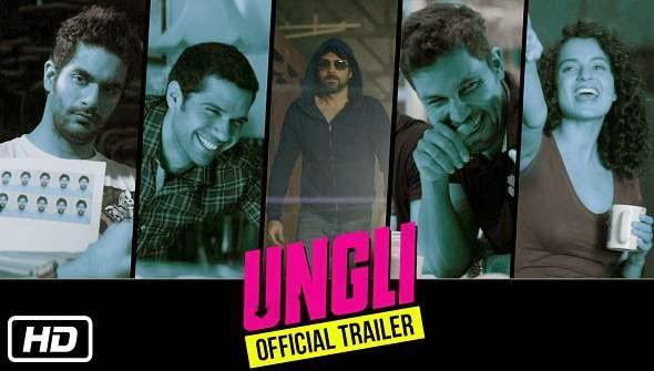 Ungli 2014 hindi movie poster
