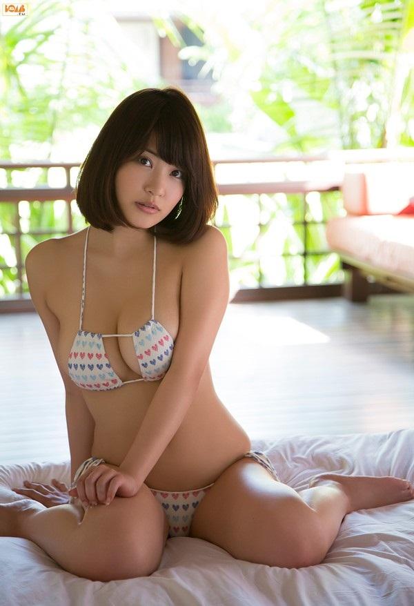 Ảnh gái đẹp HD Bỏng mắt áo tắm sexy Asuka Kishi 12