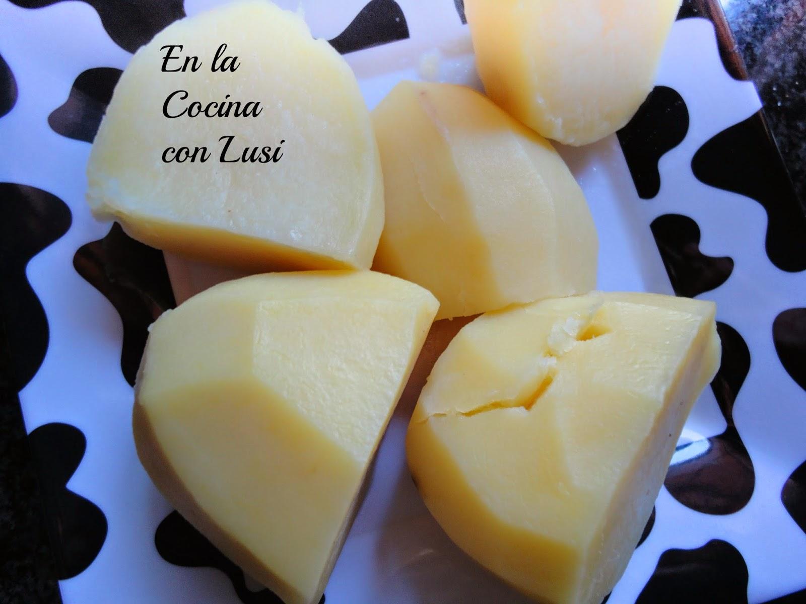 En la cocina con lusi cocer patatas en olla gme - Tiempo de cocer patatas ...