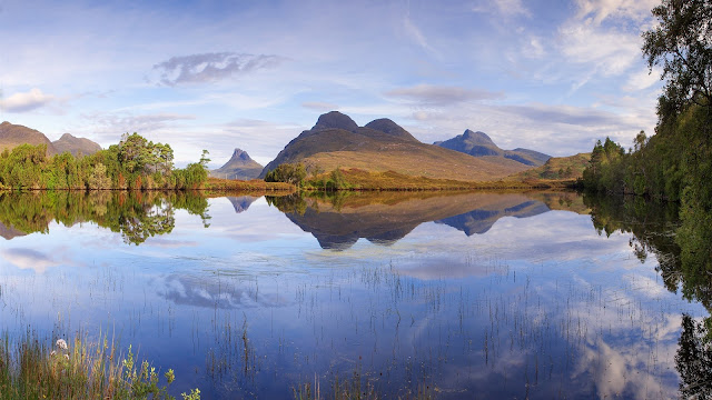 Scotland Nature Landscape Lake Mountains HD Wallpaper