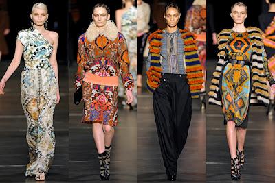 mode imprimé ethnique