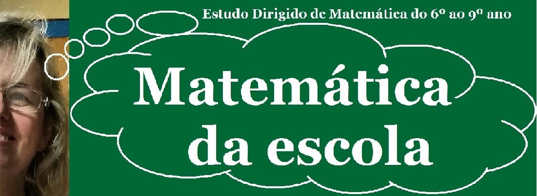 Matemática da Escola