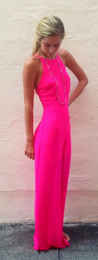Beautiful Pink Maxi Dress with Accessories, Love It