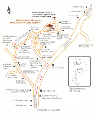 Map to Doi Angkhang