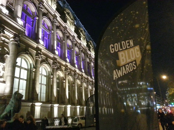 Shortlistée aux Golden Blog Awards : la soirée !
