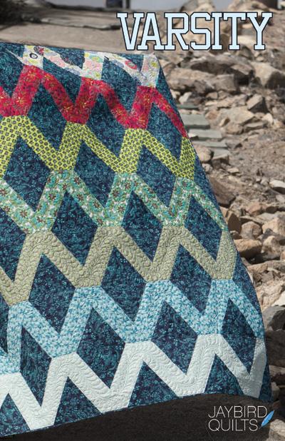 Varsity - Quilt Pattern | Jaybird Quilts : jaybird quilt - Adamdwight.com