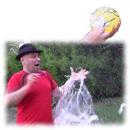 Afeitando el globo sin que se rompe, truco revelado, juegos para fiestas