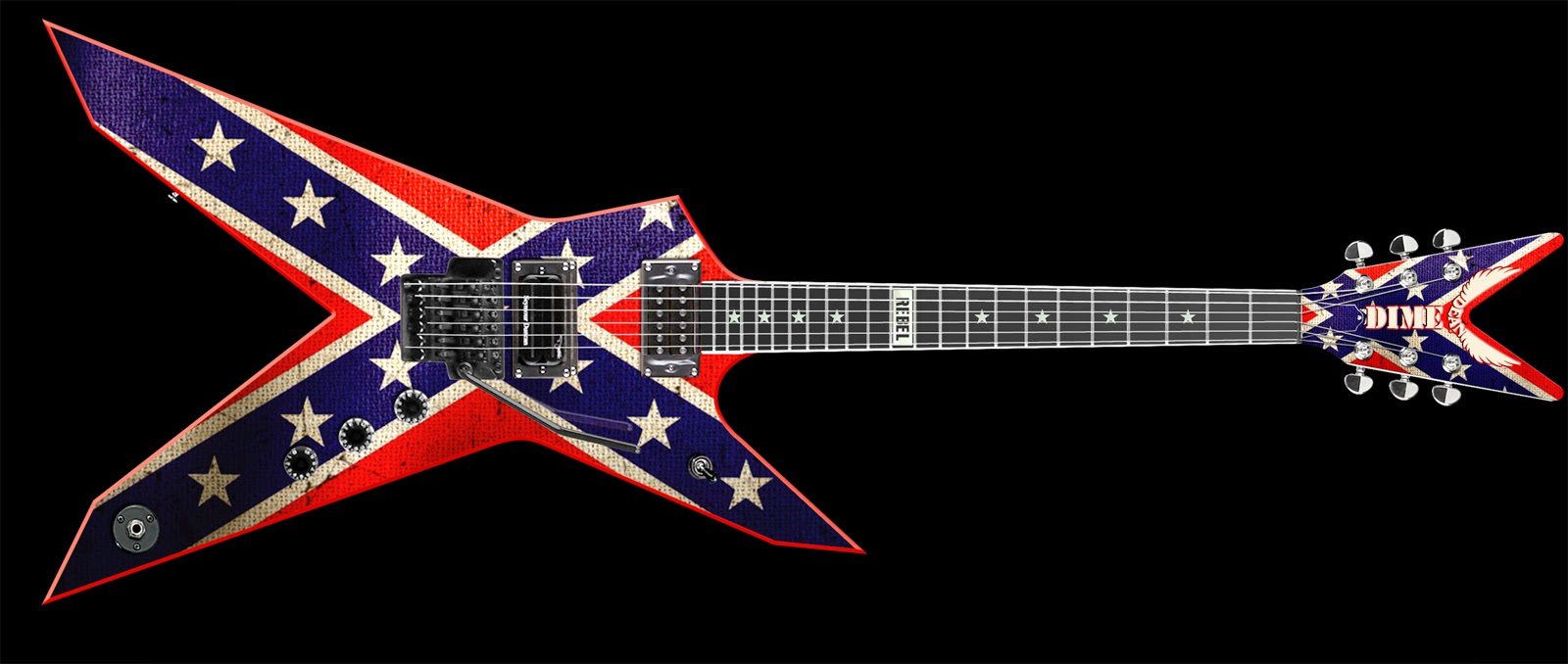 Washburn Dimebag 333 Rebel