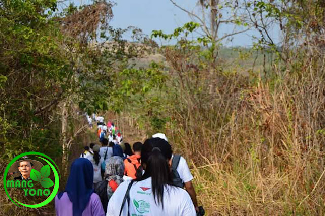 Untuk peserta Sepanjang rute yang dilalui diwajibkan pungut sampah plastik