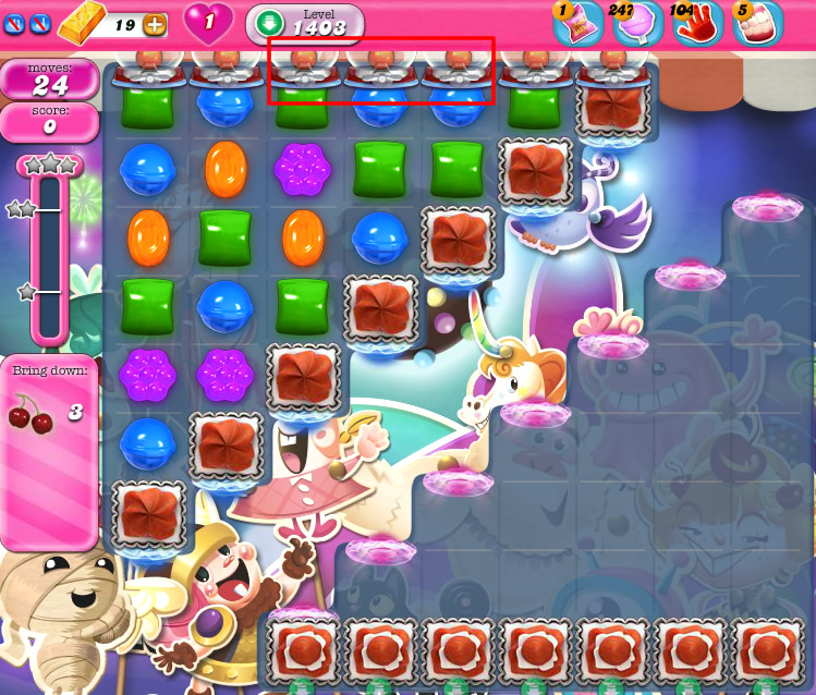 Candy Crush Saga 1403