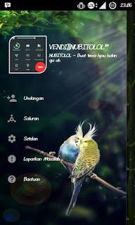 BBM MOD FOREST THEME APK Terbaru