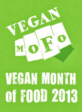 Shaheen Does Vegan MoFo 2013