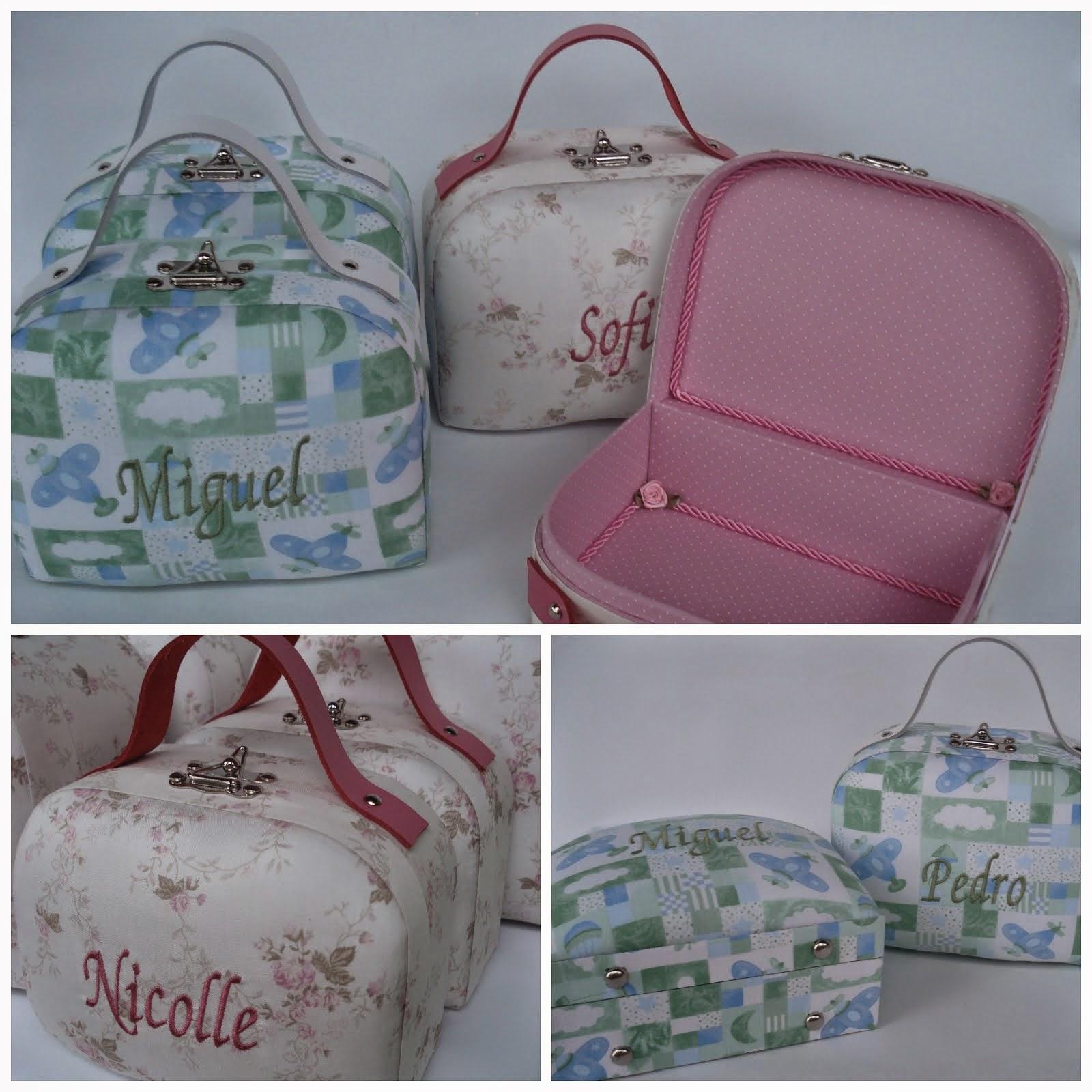 maletinhas para daminhas e pajens
