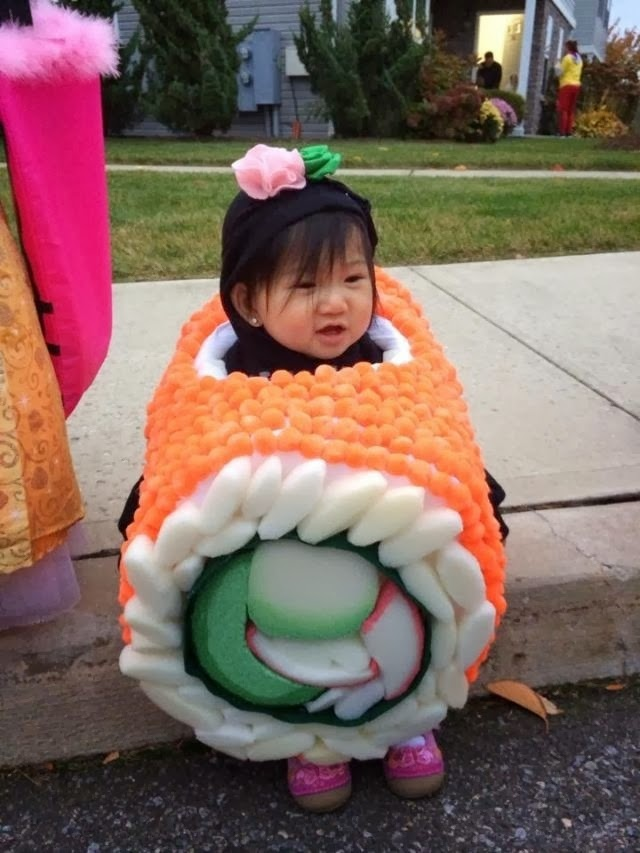 Post halloween cutest creative baby costume roundup for Creative toddler halloween costumes