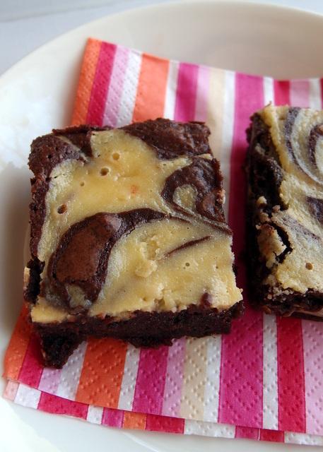 cheese cake brownie