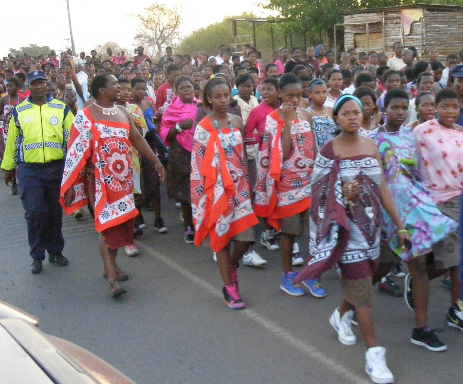 Linda@Us: The Reed Dance - Umhlanga