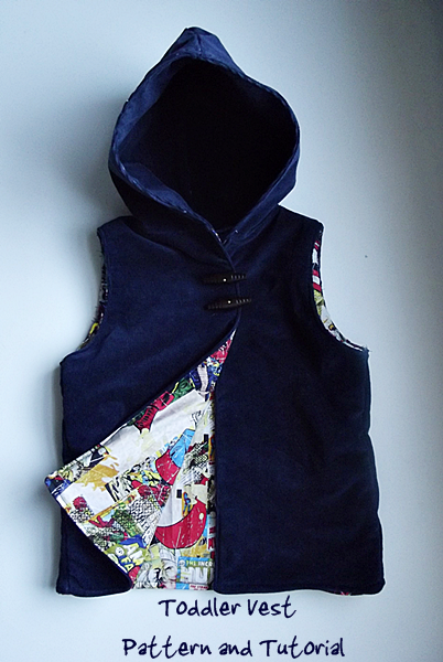 Sewing pattern for Hooded Jackets