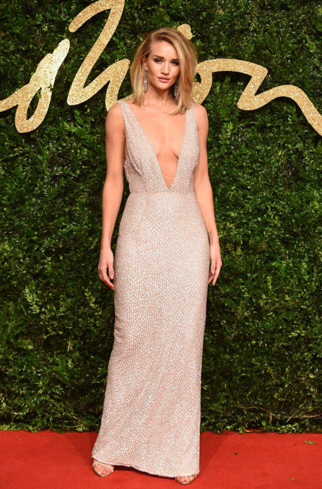 Rosie Huntington Whiteley – British Fashion Awards 2015 in London