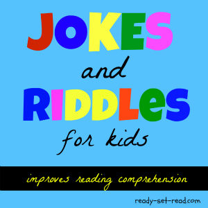 riddles for kids, jokes for kids, ready set read, image