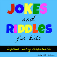 jokes for kids, riddles for kids, picture books, ready set read, literacy, image