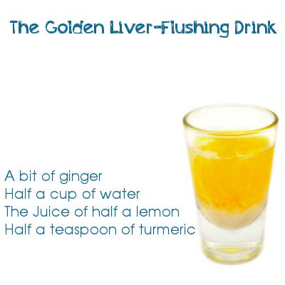 The Golden Liver-Flushing Drink
