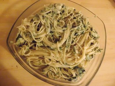pâte aux courgettes, recette légère