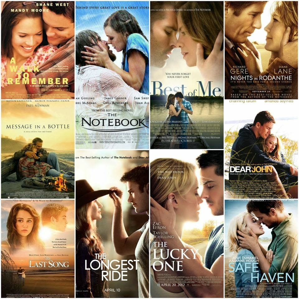 Star4laughs Nicholas Sparks Books Vs Movies