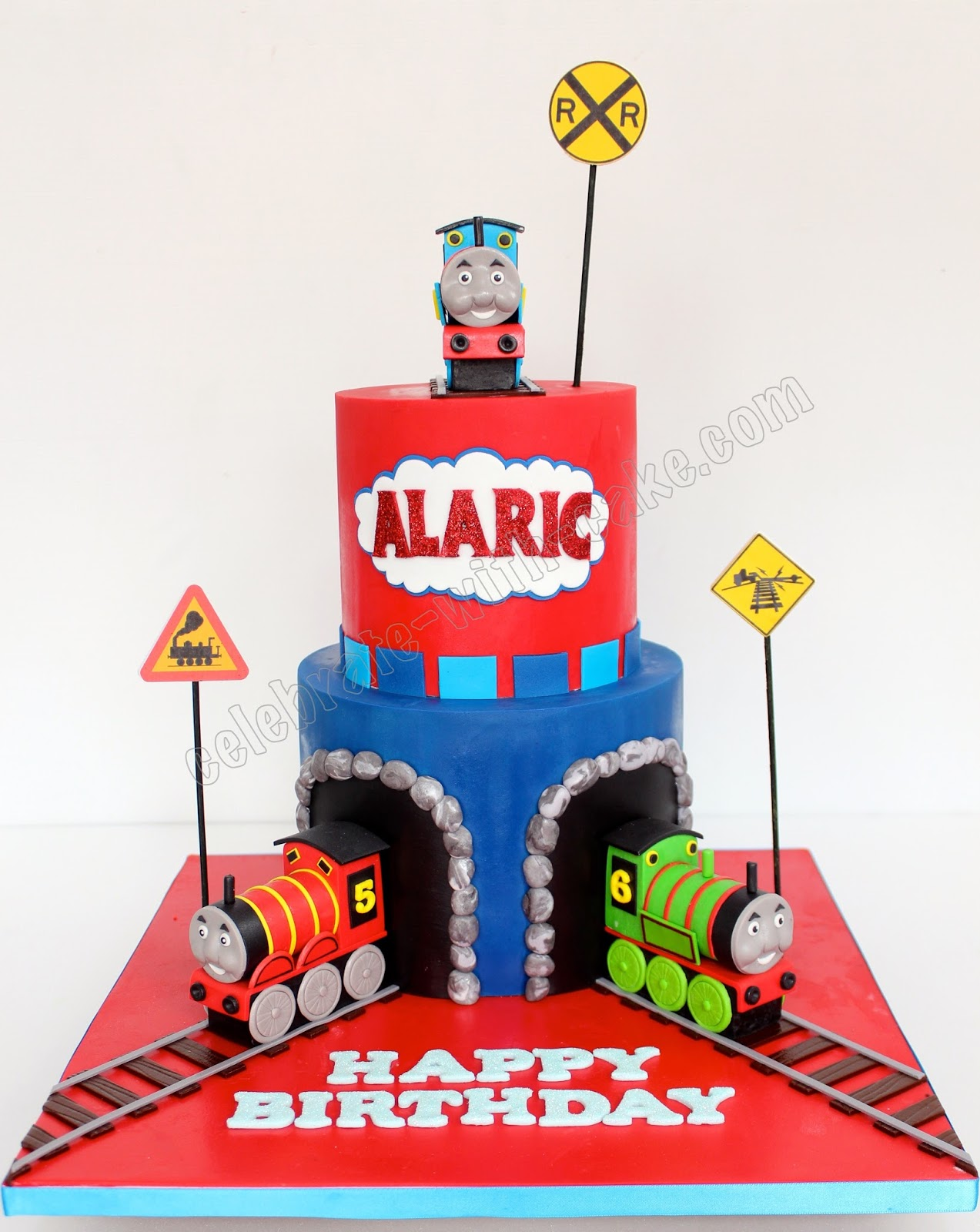 Celebrate With Cake Thomas And Friends 2 Tier