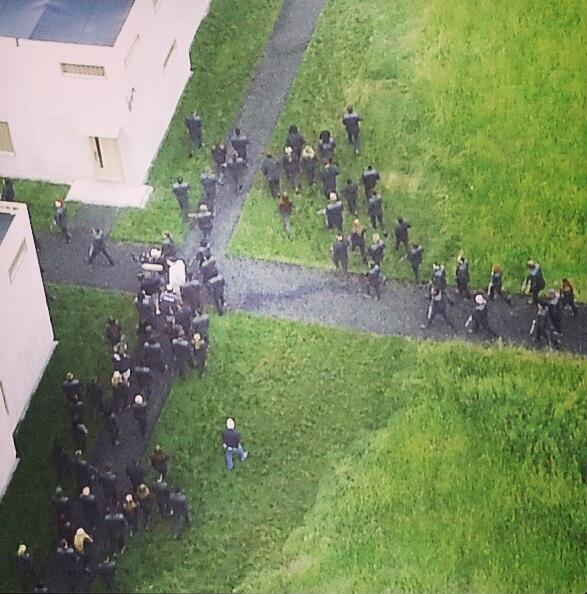 The Divergent Life: SET PICTURES: Dauntless Invasion - On ...