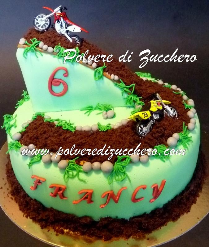 Motor Birthday Cake