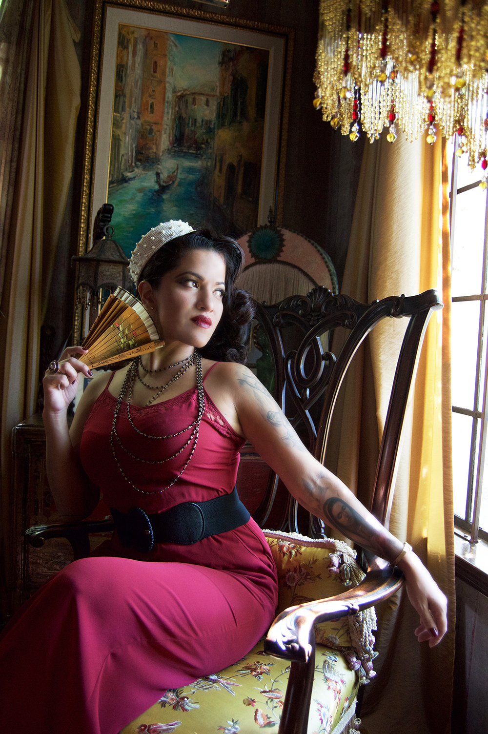 The Darla Pillbox Hat Fit for a Queen!