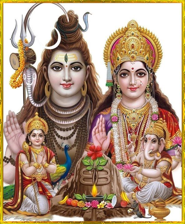 Image result for bholenath parivar