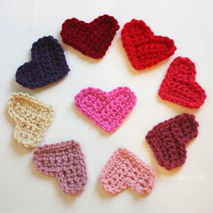 How to Make Easy Crochet Heart Pattern