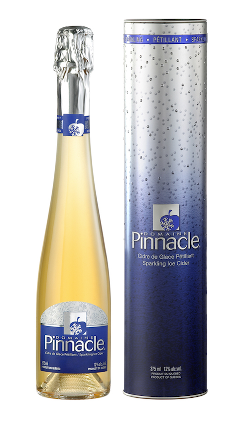 Cidre de glace pétillant du Domaine Pinnacle