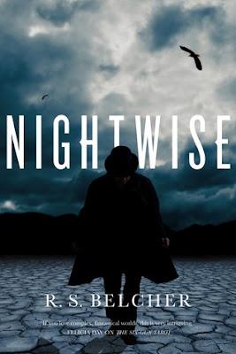 Nightwise by R.S. Belcher dark fantasy